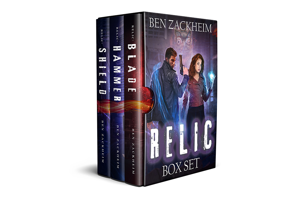 Relic Box Set 1 by Ben Zackheim
