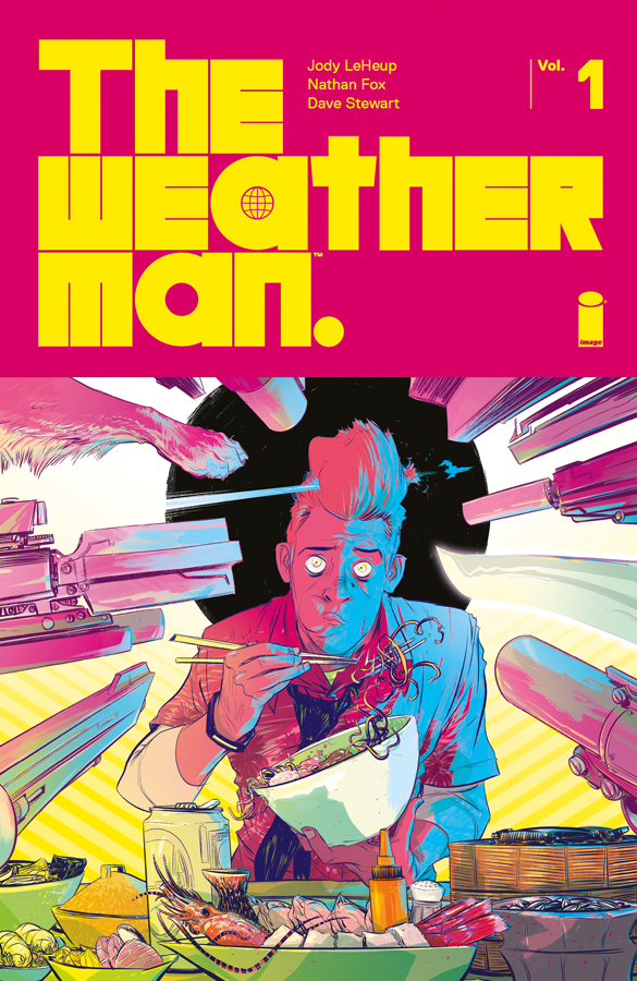 Nathan Fox The Weatherman comic book