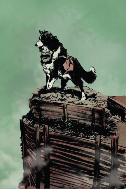 Dogs of War by Nathan Fox comic book graphic novel