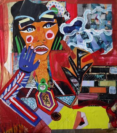 Nadia DeLane collage