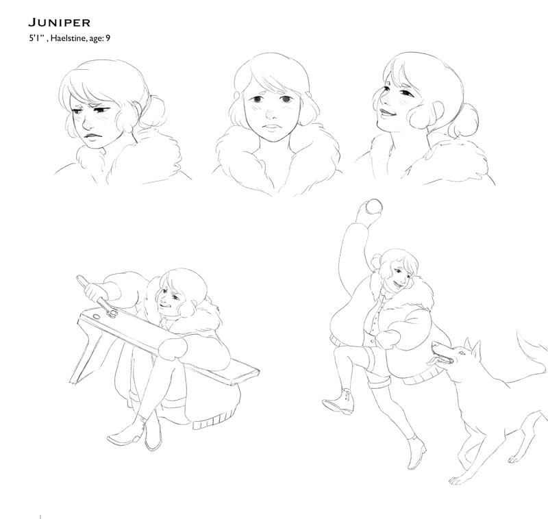 Ann Coddou character studies