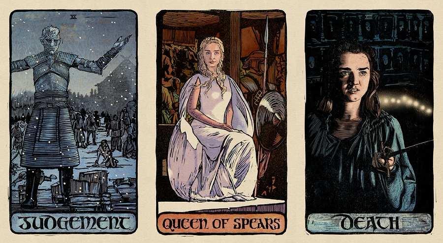 Craig Coss Game of Thrones tarot