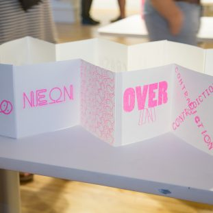 RISO work by MFAVN students, pics by Martin Mendizabal