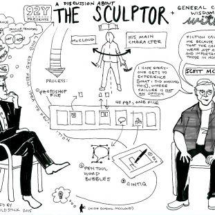 Jenny Goldstick Sketch Notes Scott McCloud
