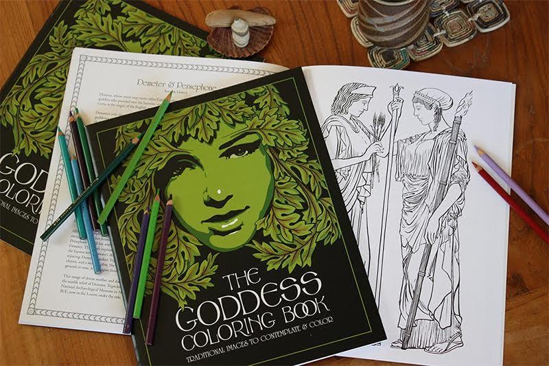 Craig Coss Goddess Coloring Book