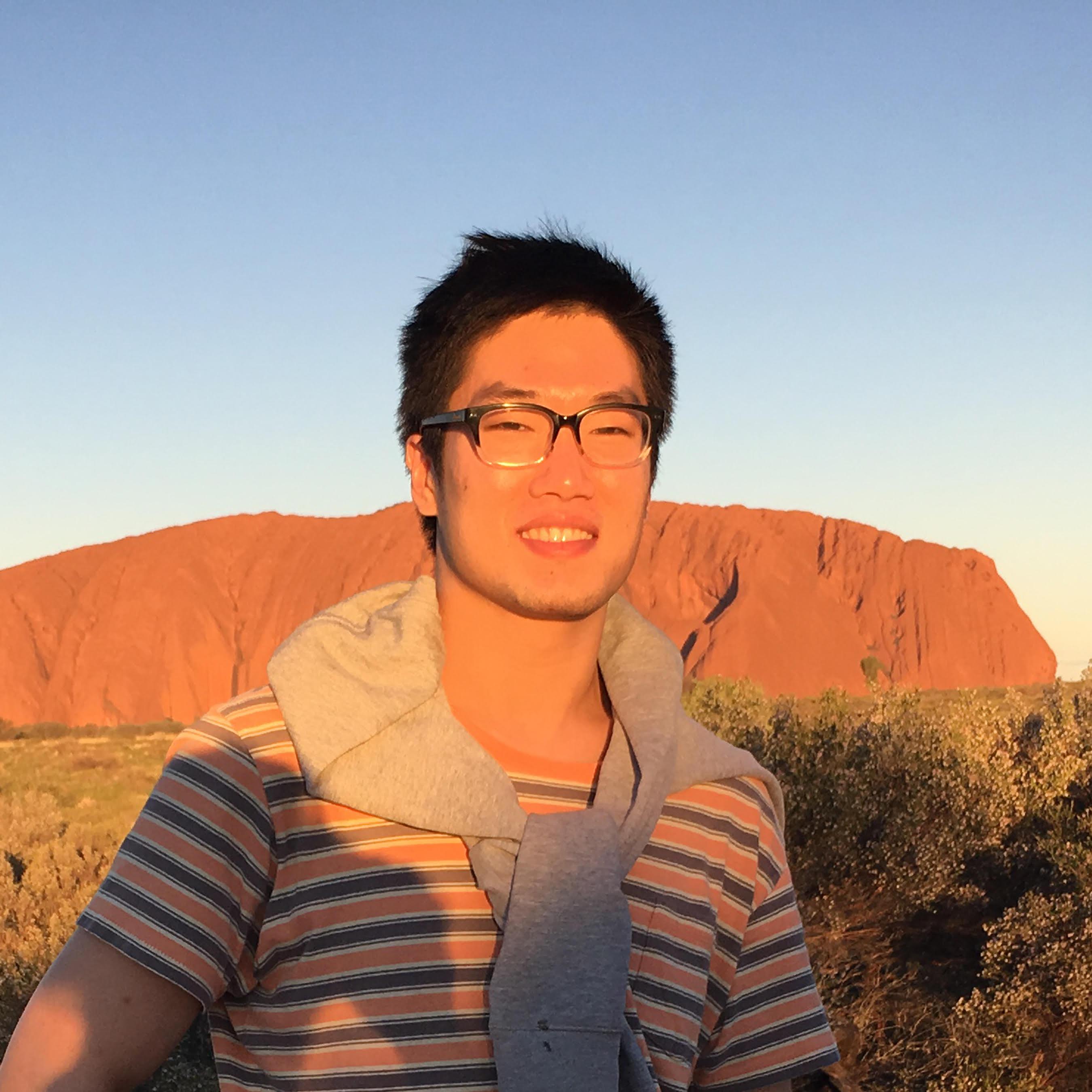 Headshot of Tony Chao.