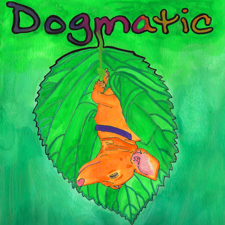 Dogmatic book cover by Emily Hoffman