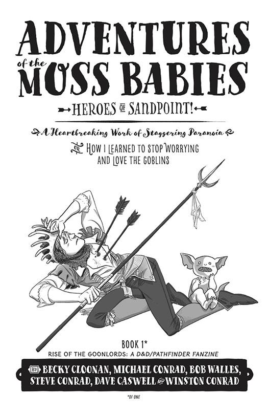 Bob Walles Adventures of the Moss Babies