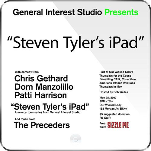 Steven Tyler's iPad
