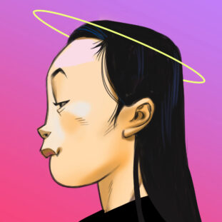 Lixiaoyue Liu self portrait