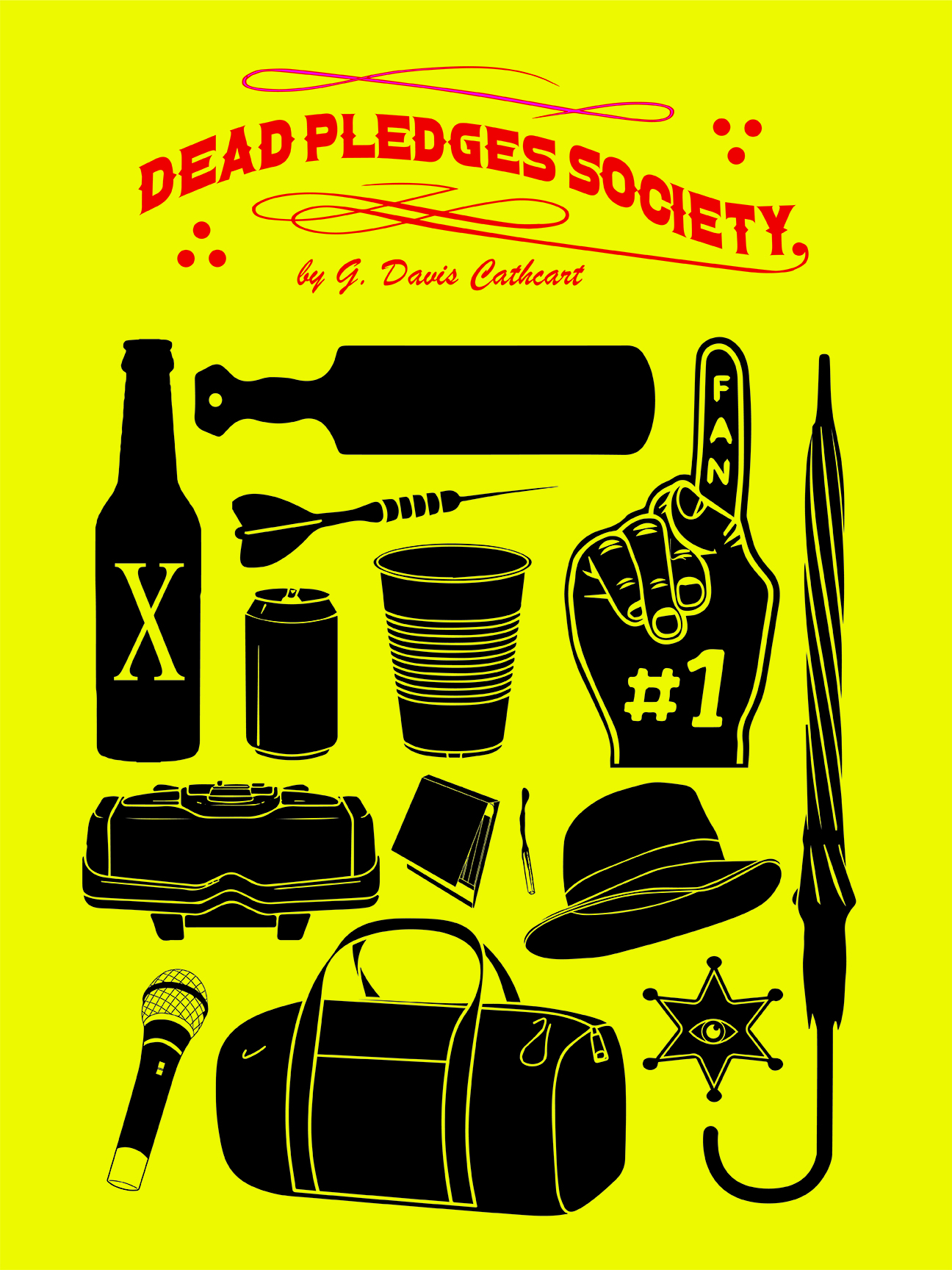 Poster for Dead Pledges Society