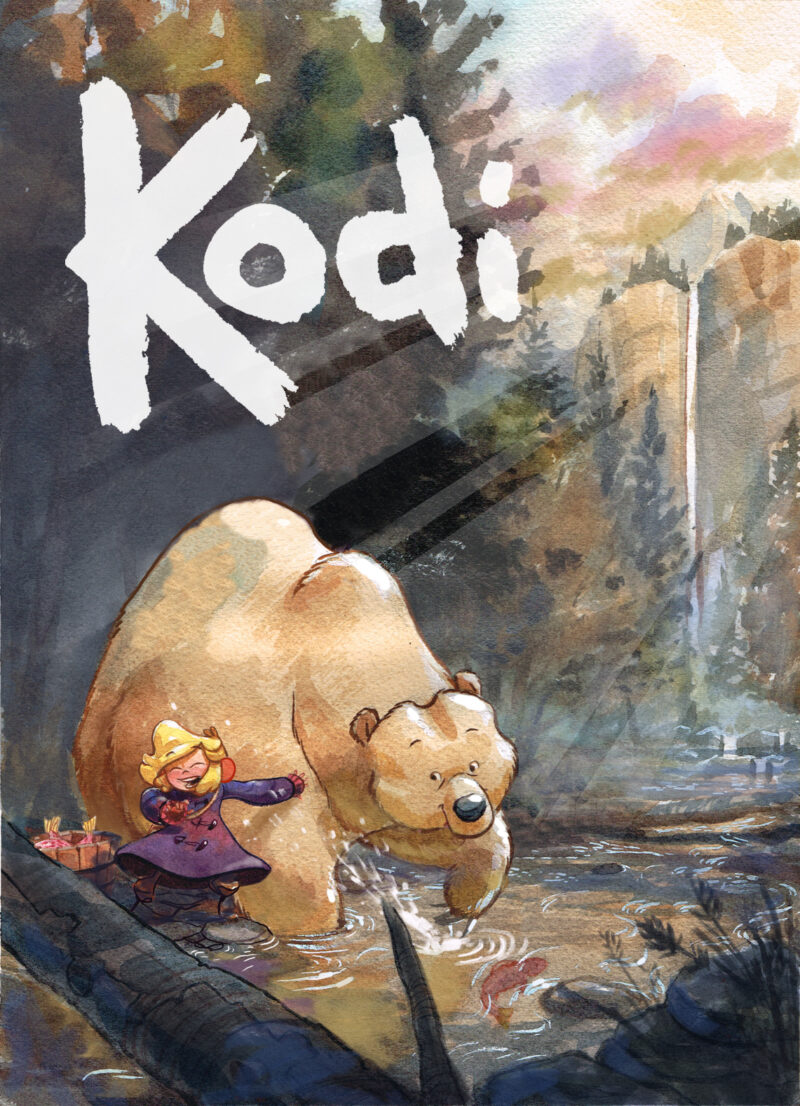 Cover to Kodi by Red Cullum